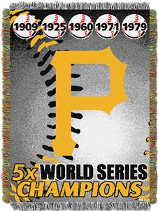Northwest MLB Pirates Commemorative Throw