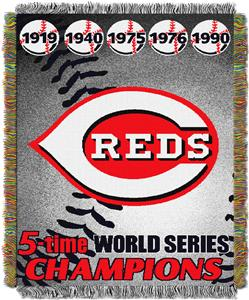 Northwest MLB Cincinnati Reds Commemorative Throw
