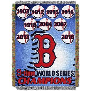 Northwest MLB Boston Red Sox Commemorative Throw