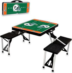 Picnic Time NFL Miami Dolphins Picnic Table