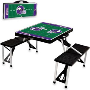 Picnic Time NFL Minnesota Vikings Picnic Table