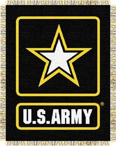 Northwest U.S. Army Triple Woven Jacquard Throw