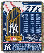 Northwest MLB New York Yankees Commemorative Throw