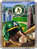 Northwest MLB Athletics Home Field Advantage Throw