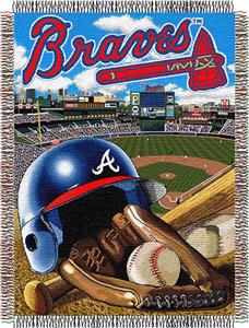 Northwest MLB Braves Home Field Advantage Throw