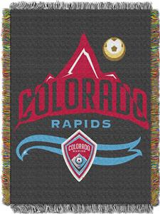 "Northwest MLS Colorado Rapids 48""x60"" Woven Throw"