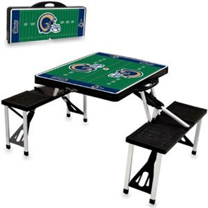Picnic Time NFL St. Louis Rams Picnic Table