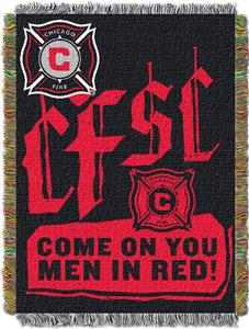 "Northwest MLS Chicago Fire 48""x60"" Tapestry Throw"
