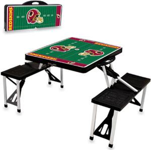 Picnic Time NFL Washington Redskins Picnic Table