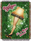 Northwest A Christmas Story Holiday Leg Lamp Throw