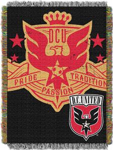 "Northwest MLS DC United 48""x60"" Tapestry Throw"