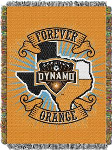 Northwest MLS Houston Dynamo 48x60 Tapestry Throw