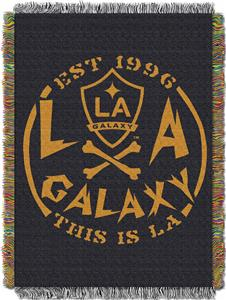 "Northwest MLS LA Galaxy 48""x60"" Tapestry Throw"