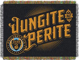 "Northwest MLS Philadelphia Union 48""x60"" Throw"