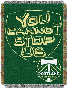Northwest MLS Portland Timbers (Green) 48x60 Throw