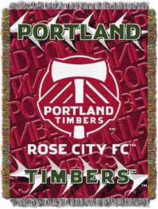 "Northwest MLS Portland Timbers 48""x60"" Throw"