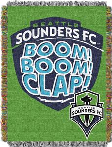 Northwest MLS Seattle Sounders 48&quot;x60&quot; Throw
