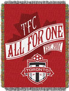 "Northwest MLS Toronto FC 48""x60"" Tapestry Throw"