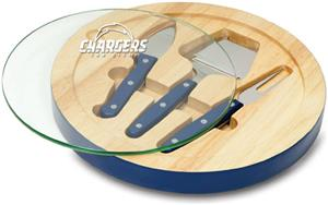 Picnic Time NFL San Diego Chargers Ventana Board