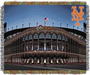 Northwest MLB Citi Field Stadium Tapestry Throw