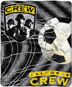 "Northwest MLS Columbus Crew 50""x60"" Sherpa Throw"