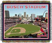 Northwest MLB New Busch Stadium Tapestry Throw