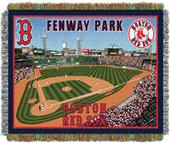 Northwest MLB Fenway Park Stadium Tapestry Throw