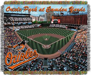 Northwest MLB Orioles Camden Yards Stadium Throw
