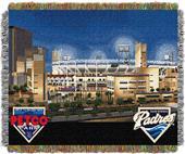 Northwest MLB Petco Park Stadium Tapestry Throw