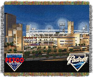 Northwest MLB Petco Park Stadium Tapestry Throw
