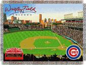 Northwest MLB Wrigley Field Stadium Tapestry Throw