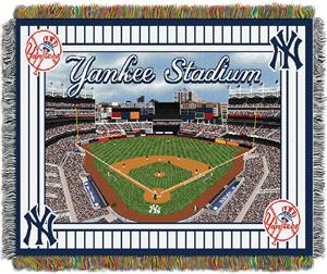 Northwest MLB Yankees Stadium Tapestry Throw