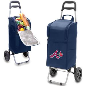 Picnic Time MLB Atlanta Braves Cart Cooler