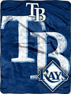 Northwest MLB Rays Triple Play Micro Throw