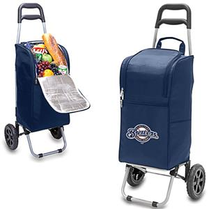 Picnic Time MLB Milwakee Brewers Cart Cooler