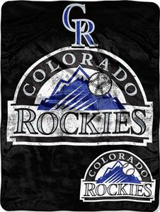 Northwest MLB Rockies Triple Play Micro Throw