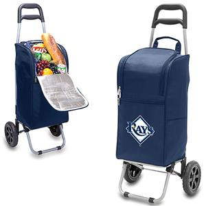 Picnic Time MLB Tampa Bay Rays Cart Cooler