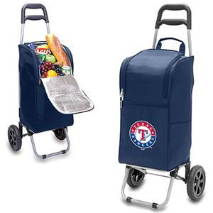 Picnic Time MLB Texas Rangers Cart Cooler