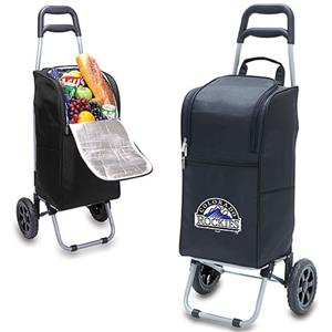 Picnic Time MLB Colorado Rockies Cart Cooler