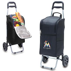 Picnic Time MLB Miami Marlins Cart Cooler