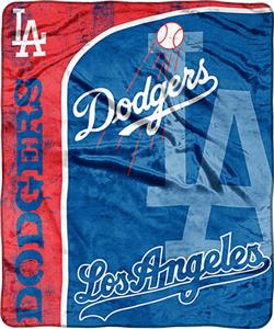 Northwest MLB LA Dodgers Jersey Micro Throw