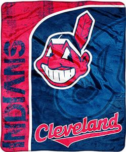 Northwest MLB Cleveland Indians Jersey Micro Throw