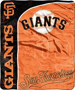 Northwest MLB SF Giants Jersey Micro Raschel Throw