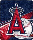 Northwest MLB Los Angeles Angels Sherpa Throw