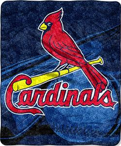 Northwest MLB St. Louis Cardinals Sherpa Throw