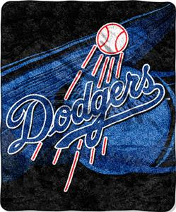Northwest MLB Los Angeles Dodgers Sherpa Throw