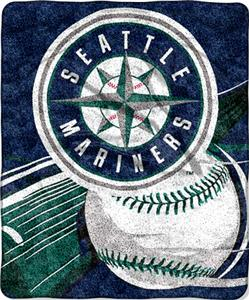 Northwest MLB Seattle Mariners Sherpa Throw