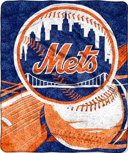 Northwest MLB New York Mets Sherpa Throw