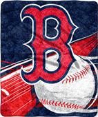 Northwest MLB Boston Red Sox Sherpa Throw