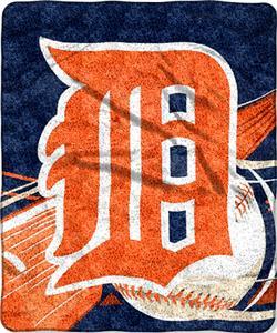 Northwest MLB Detroit Tigers Sherpa Throw